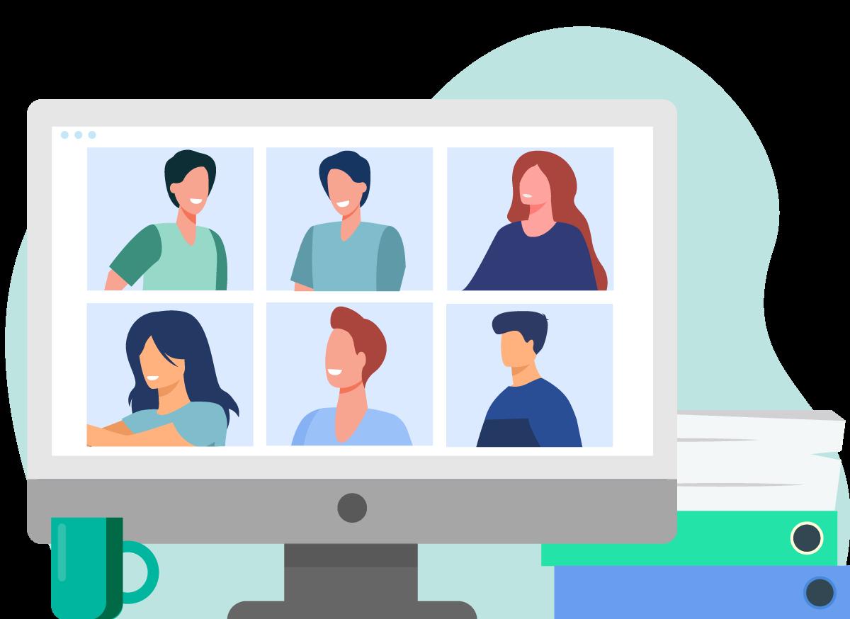 Organiser réunion à distance
